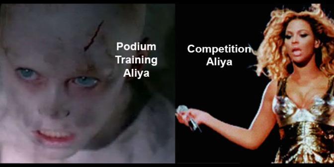 Euros 2016: Aliya Hits When Aliya Wants