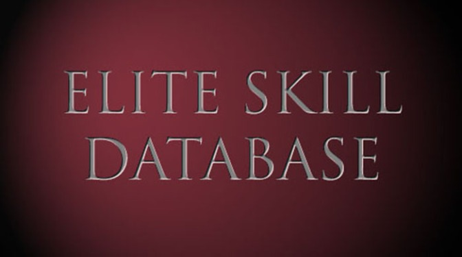 Elite Skill and Routine Databases
