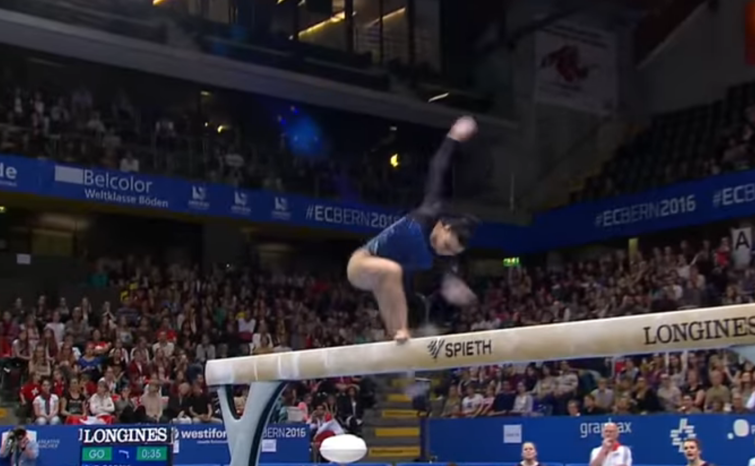 claudia fragapane on beam a gif tribute