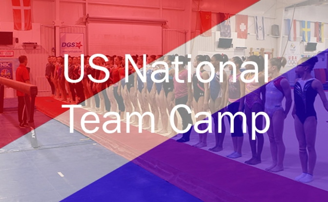 US National Team Camp – July Update