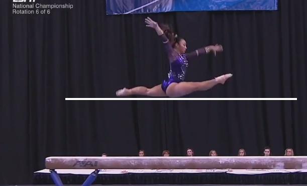 scoring ncaa gymnastics balance beam the balance beam situation