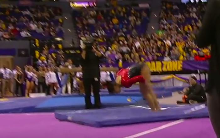 Scoring Ncaa Gymnastics Floor Exercise The Balance Beam Situation