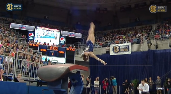 Scoring NCAA Gymnastics – Vault