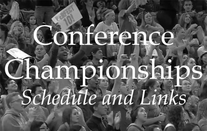 Conference Championships –Schedule and Links