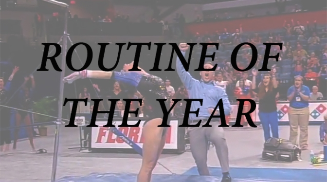 Best Routine of THE YEAR Poll