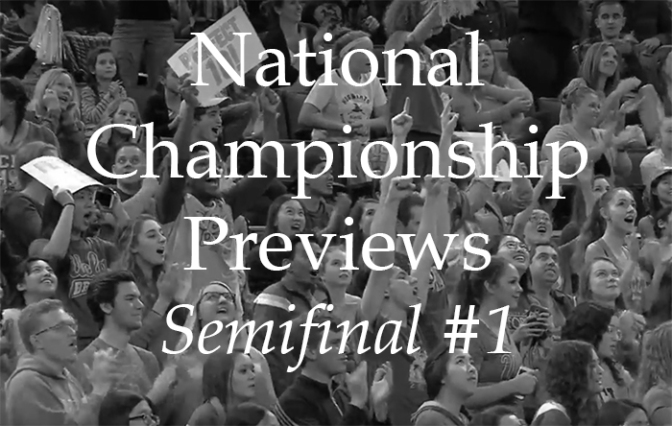 National Semifinal #1: The Preview