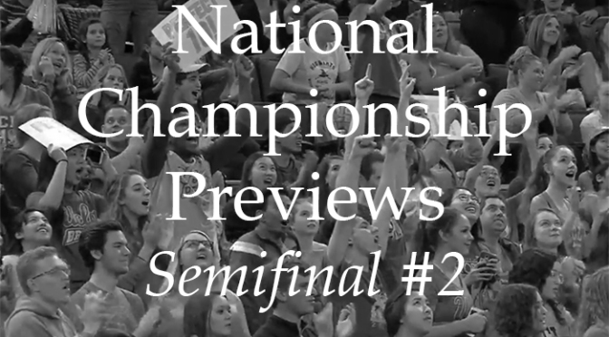 National Semifinal #2: The Preview