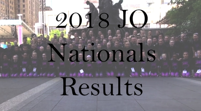 2018 JO Nationals