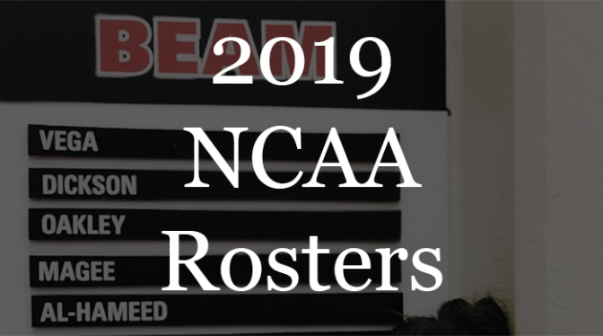 2019 NCAA Roster Notes