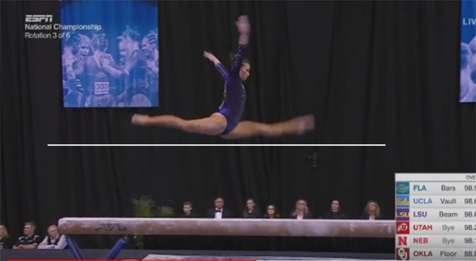 WTF Is NCAA Scoring – Beam Edition