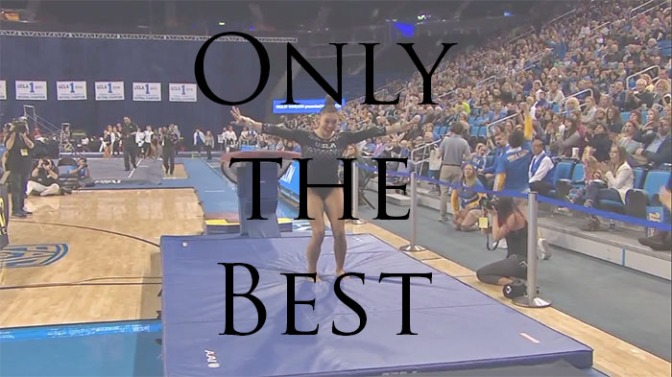 Only the best – Week 1