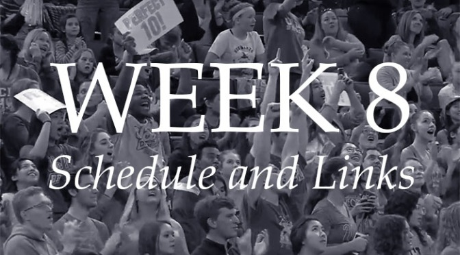 NCAA Week 8 – Schedule and Links