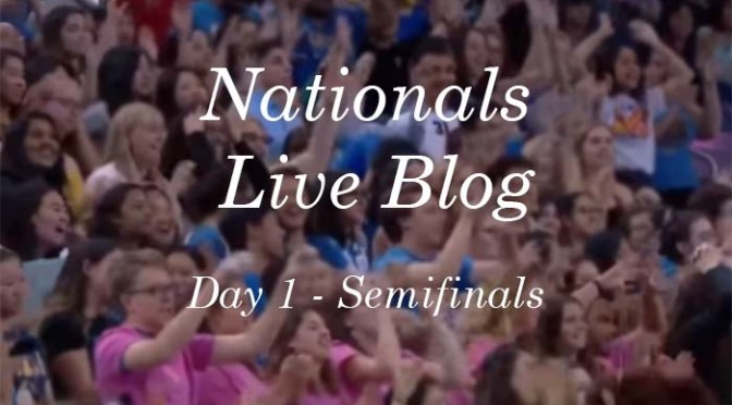 National Semifinals Live Blog