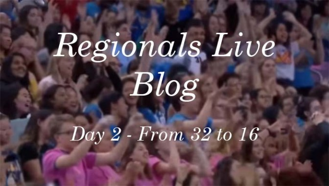 Regionals Live Blog –Round 2