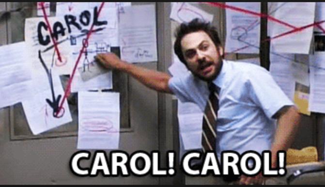 Regionals Preview Part 6: Carol GIFs