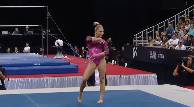 The Most Difficult Floor Routines in the World
