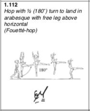 Fouette hop