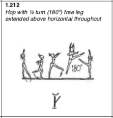 Leg-up 1:2