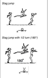 stag jump image