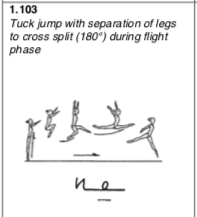Tuck to split
