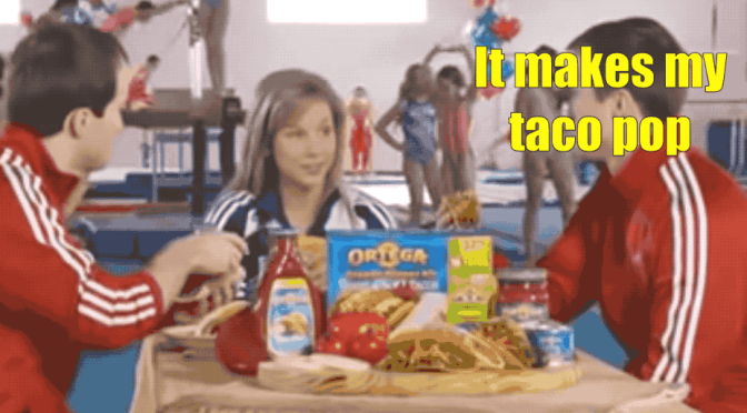 Keeping Up with the Cool GIFs – Gymnast Commercials