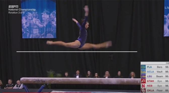 WTF Is College Gymnastics Scoring – Beam